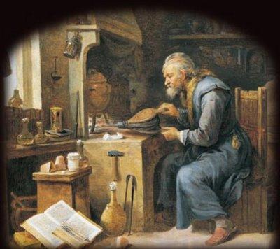 El-alquimista.David-Teniers-el-joven_pintor-flamenco_1610-1