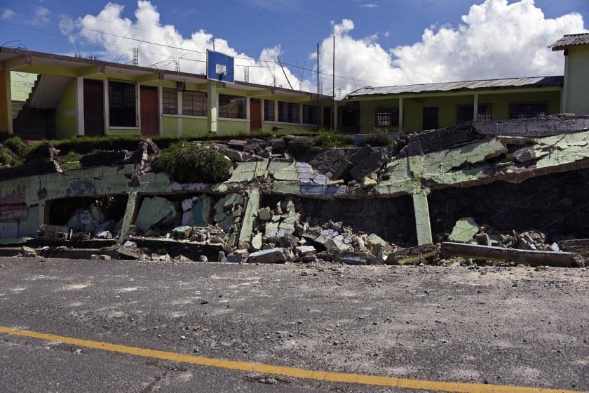 GUATEMALA-MEXICO-QUAKE-DAMAGES
